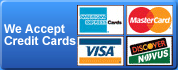 Locksmith Philadelphia accepts all major credit cards